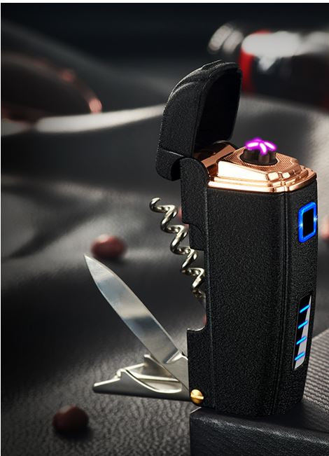Business Black Plasma Lighter