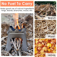 Load image into Gallery viewer, Foldable Camping Stove