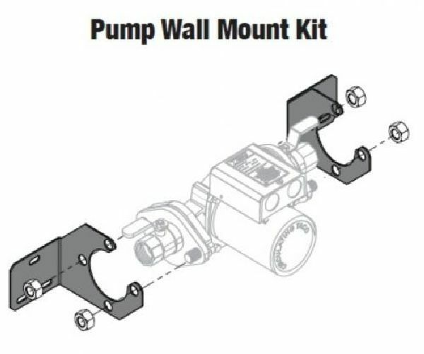 Central Boiler (#1366) Taco Pump Wall Mount Kit
