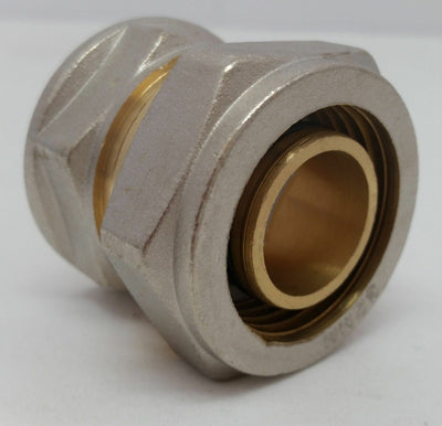 "Out Door Wood Boiler 1"" Pex-al-Pex / Kitec Compression Fitting  FPT Female Pipe"