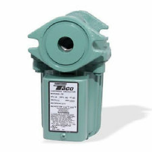 Taco 009-HBF5-J Pump/Circulator With Bronze Cartridge - For Outdoor Wood Boiler