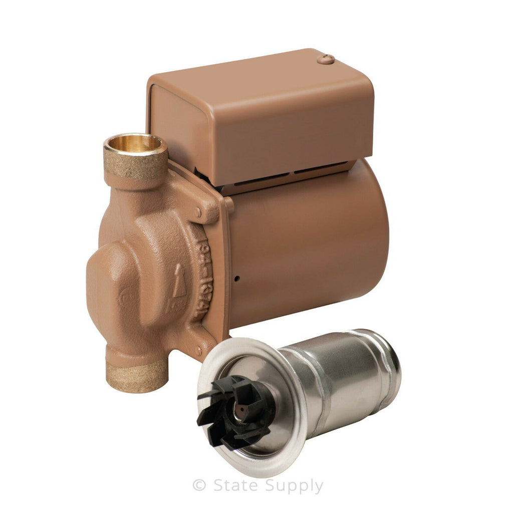 "Taco 006-B4 Bronze Circulating Pump 110 Volt  3/4"" SWT For Outdoor Wood Boilers"