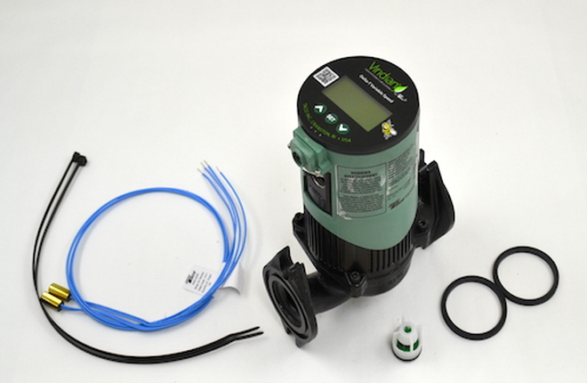 Taco VT2218-HY1-FC1A00 ,VAR SPD High Efficiency Motor Pump/Circulator For Outdoor Wood Boilers (#5800025)