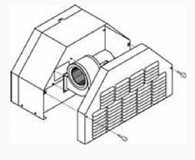 Central Boiler Draft Inducer Fan Kit for Classic Boilers