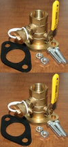 "Pump Isolation Flange Kit With Purge 1 1/4"" FPT ""Free Floating"" (125-NPT-P)"