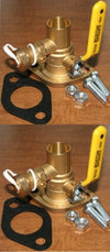 "Pump Isolation Flange Kit With Purge 1"" Sweat ""Free Floating""  (1-SWT-P)"