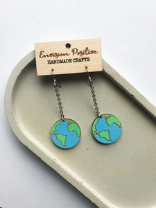 ENVISION POSITIVE | Earth Earrings