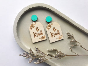 ENVISION POSITIVE | Be Kind Earrings