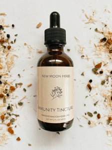 NEW MOON HERBS | Immunity Tincture