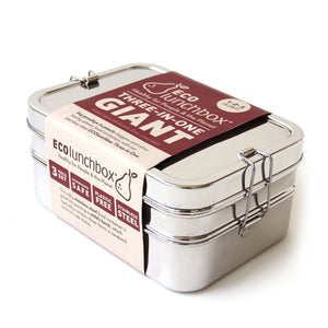 ECO LUNCHBOX | Three-in-One Giant Lunchbox