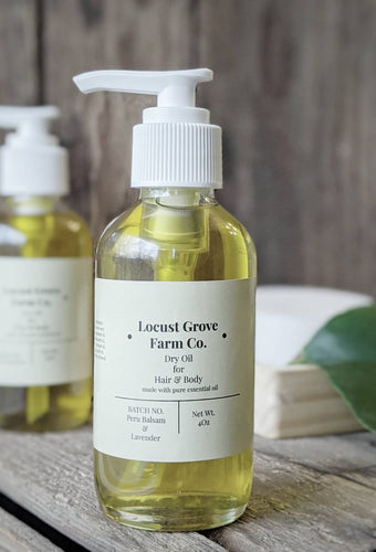 LOCUST GROVE FARM | Dry Oil for Hair + Body