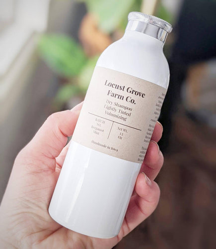 LOCUST GROVE FARM | Dry Shampoo in Refillable Aluminum Shaker