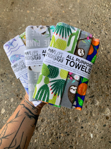 MARLEY'S MONSTERS | All-Purpose Towels