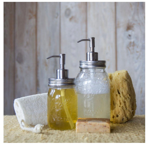 ECOJARZ | Mason Jar Soap Dispenser