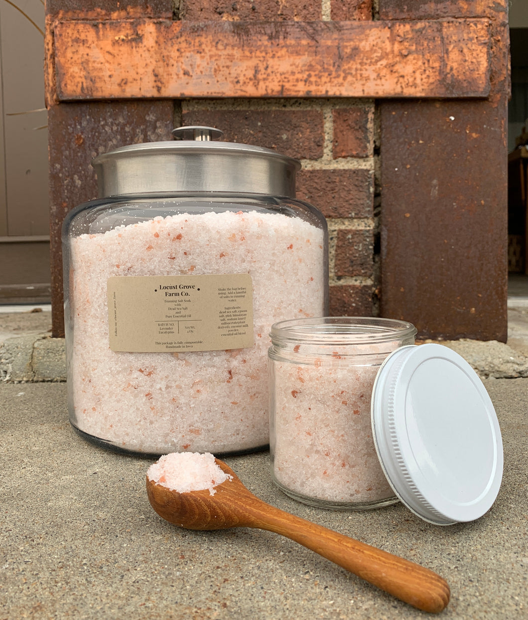 LOCUST GROVE FARM | Foaming Bath Salt - BULK (container NOT included)