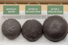 Load image into Gallery viewer, NO TOX LIFE | Luna Charcoal Facial Sponge