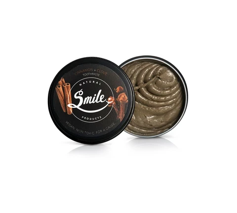 SMILE NATURAL PRODUCTS | Cinnamon + Clove Toothpaste