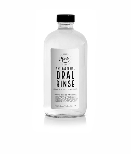 SMILE NATURAL PRODUCTS | Antibacterial Oral Rinse