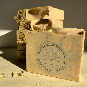LOCUST GROVE FARM | Lavender Orange Patchouli Soap
