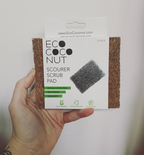 ECOCOCONUT | Scourer Scrub Pad - 2 Pack