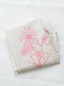 HEARTH AND HARROW | Calendula Flower Organic Cotton Tea Towel