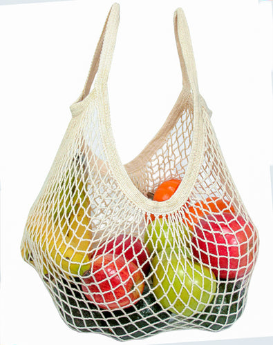 ECOBAGS | Organic String Bag - short tote handle