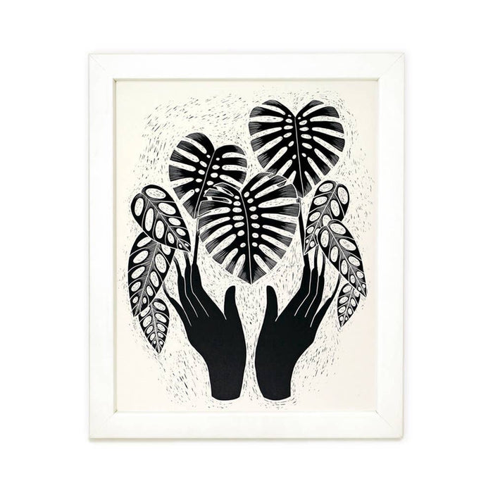 Monstera Magic Print