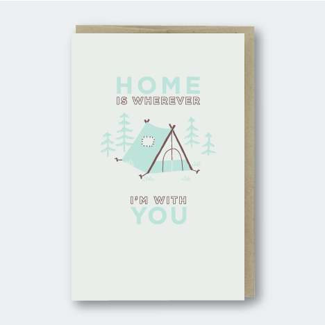 Home Tent Card