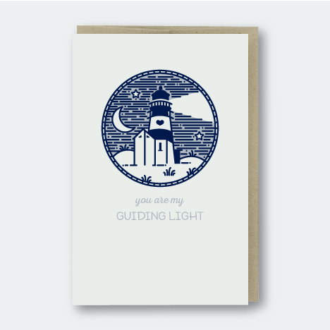 Guiding Lighthouse Card