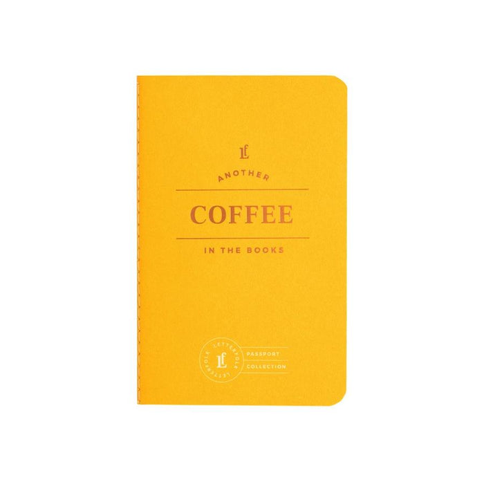Coffee Passport Collection Book
