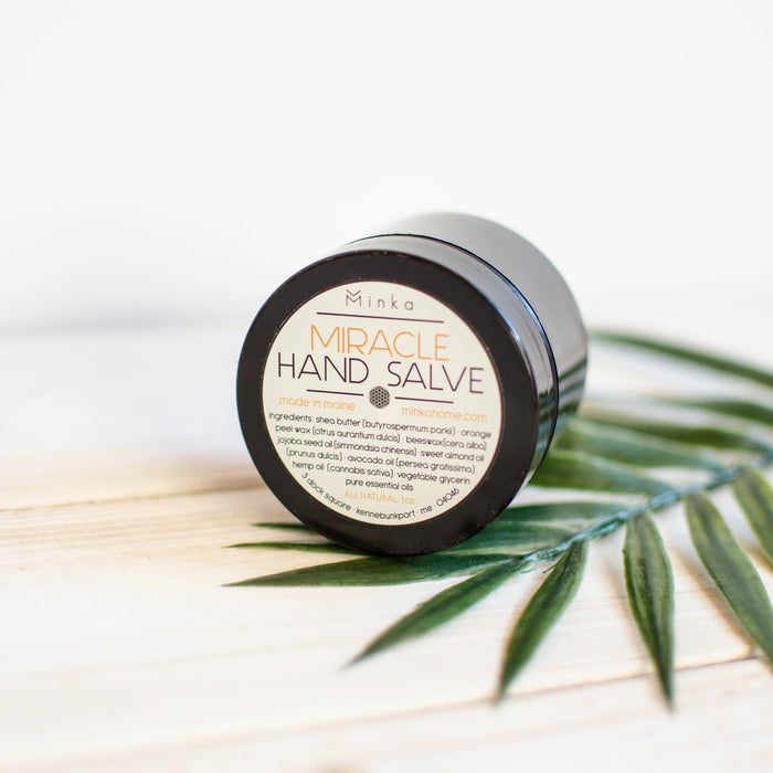 Hand made all natural hand salve