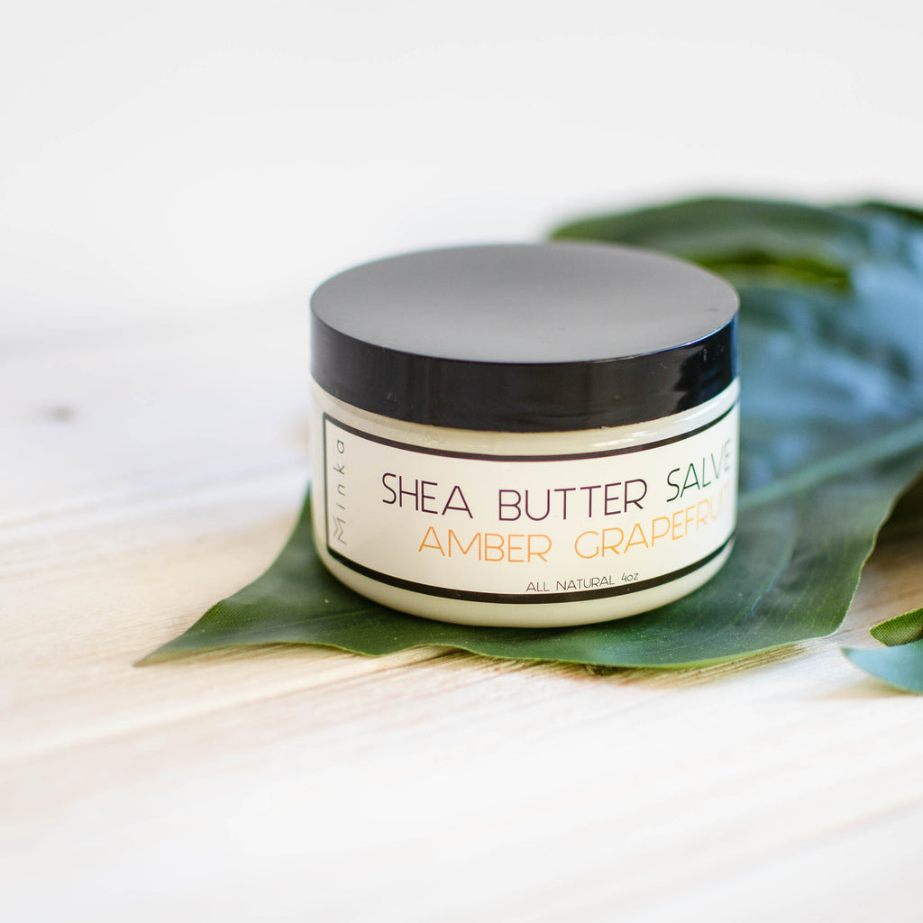 Shea Butter Body Salve: Amber