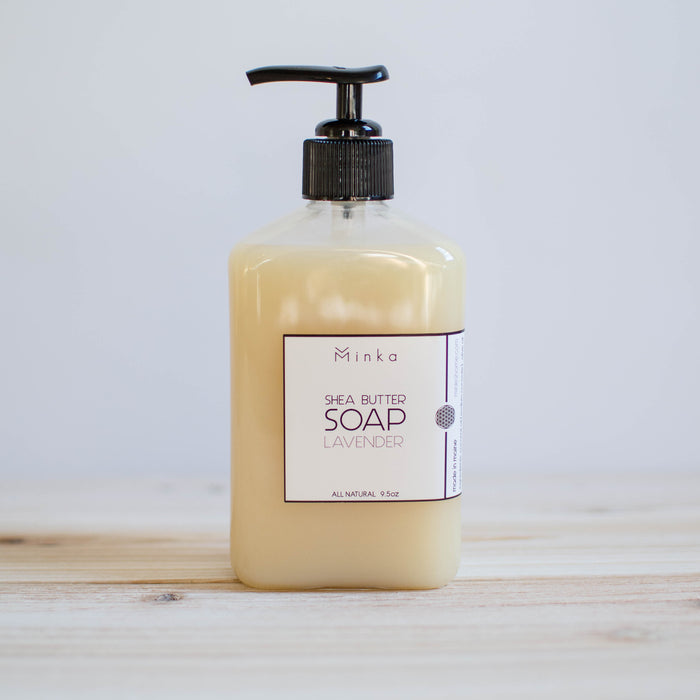 handmade all natural lavender hand soap