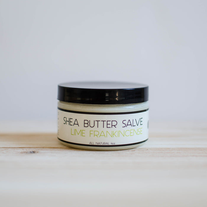 Shea Butter Body Salve: Lime