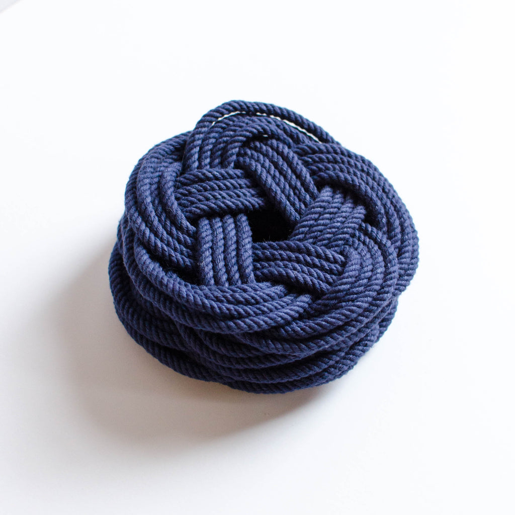 Sailor Knot Coasters | Set of Four