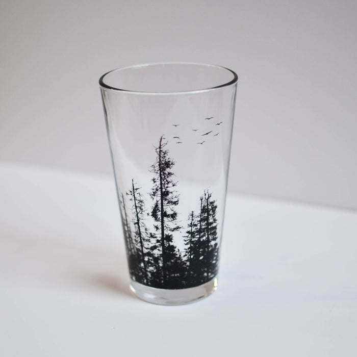 Forest Pint Glass
