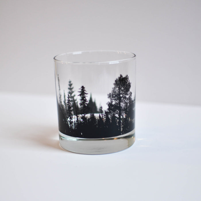 Forest Whiskey Glass