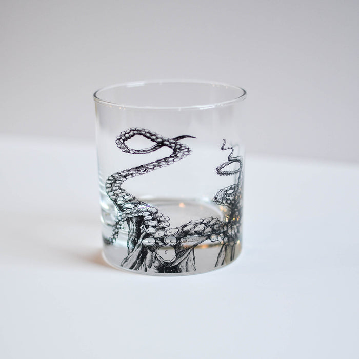 Octopus Whiskey Glass