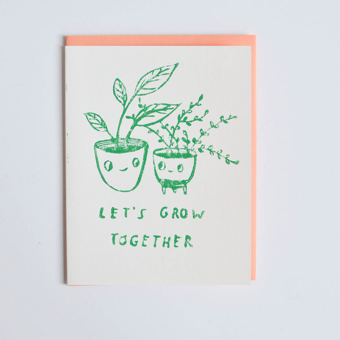 Let's Grow Together Card