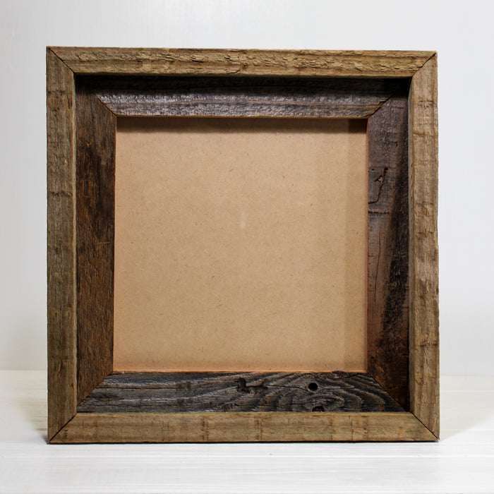 Reclaimed Wood Double Frame 8X8