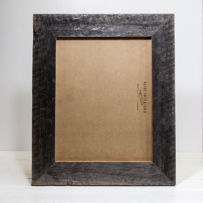Reclaimed Wood Double Frame 8.5X11