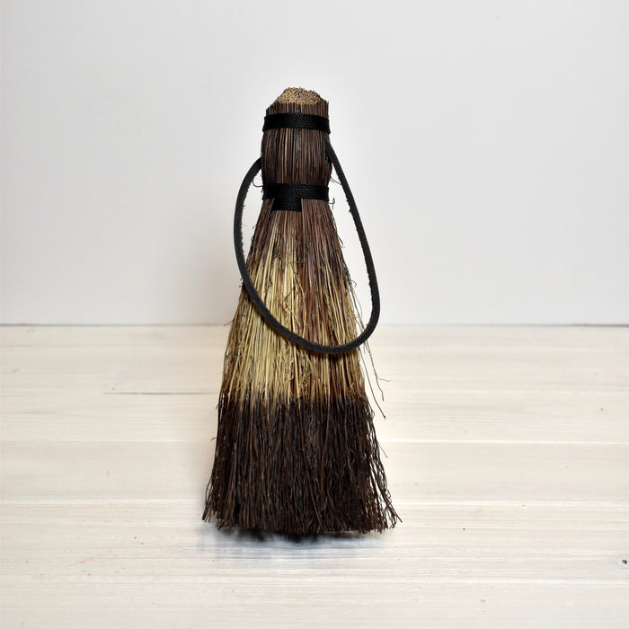 tiger tail dyed small broom