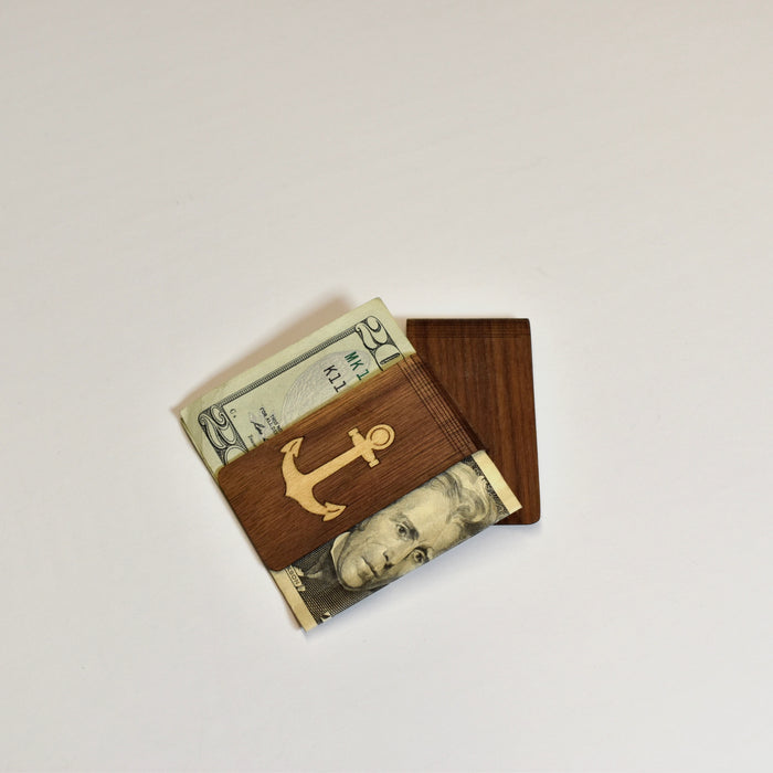 Wooden Money Clips