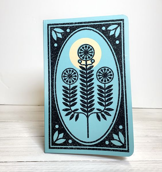 Plant Layflat Notebook