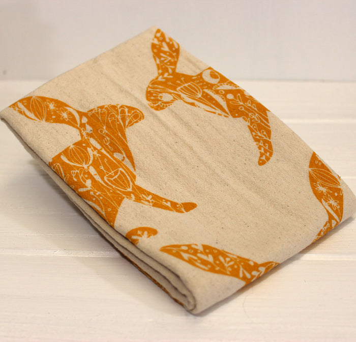 Rabbitt Hand Towel | Gold