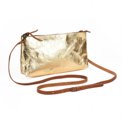 La Busta Crossbody: Gold