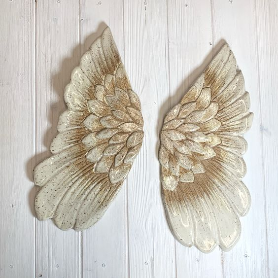 Ceramic Angel Wings