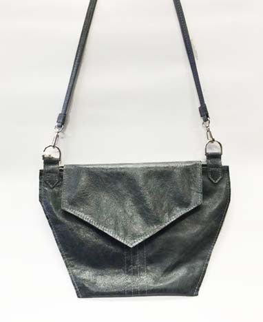 The Hex Crossbody: Steel Grey
