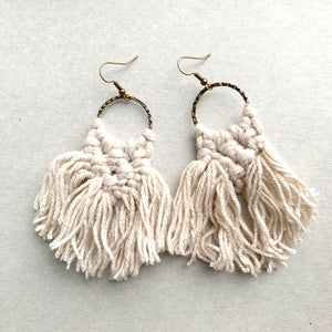 Macrame Earrings, Short