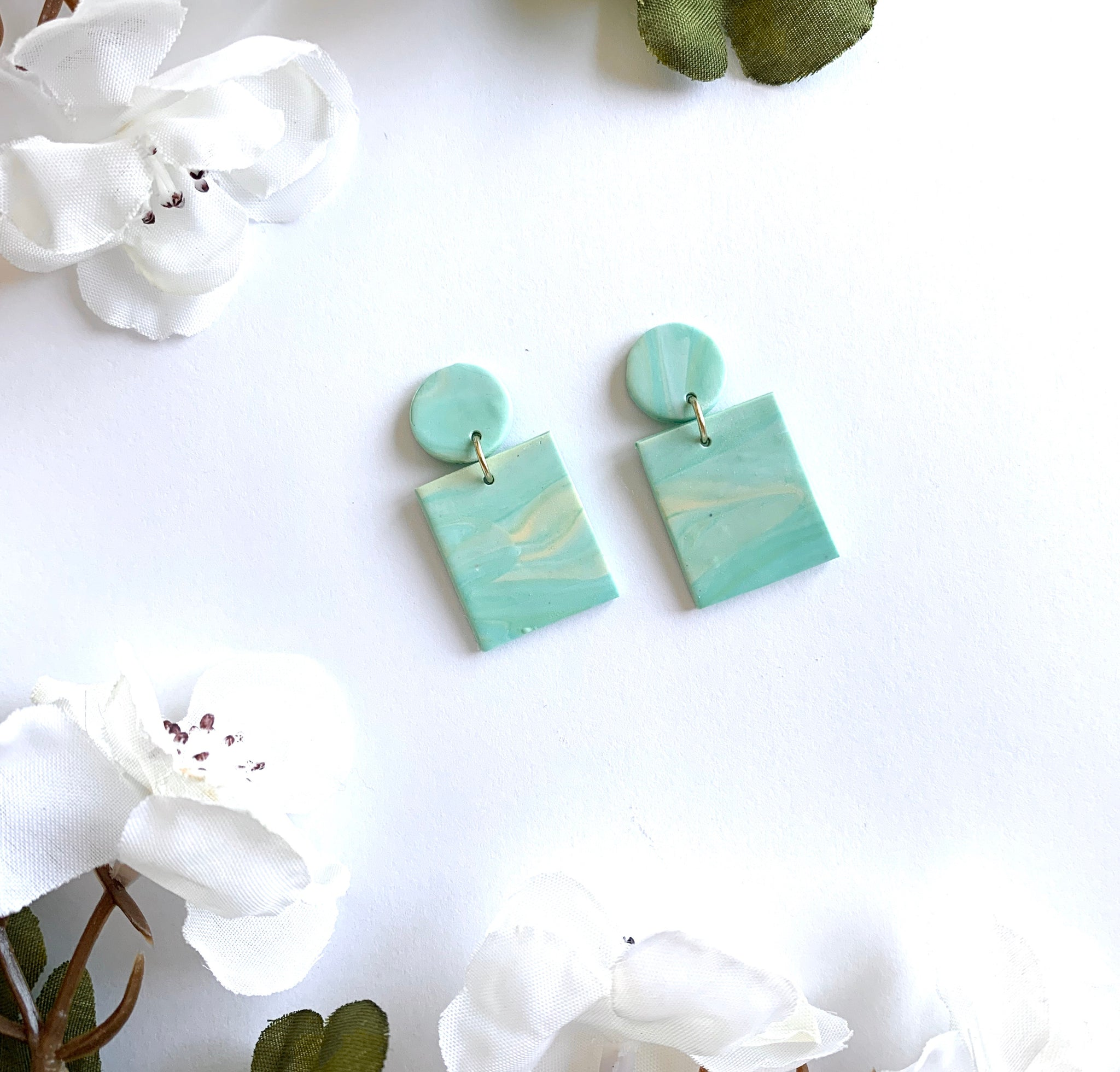 Light Teal Marbled Bars (small)